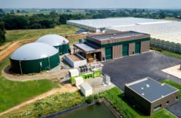 Centrale biomasse de méthanisation financée par Enerfip